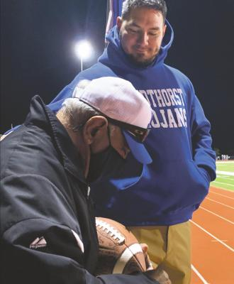 Cavazos leads defense with a heavy heart