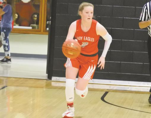 Since returning from injury on Tuesday, Dec. 8, against Millsap, Holliday's Sarah Cowan is averaging 14.9 points per game, and has scored at least seven in each of her eight games this season. Photo/Will Edwards
