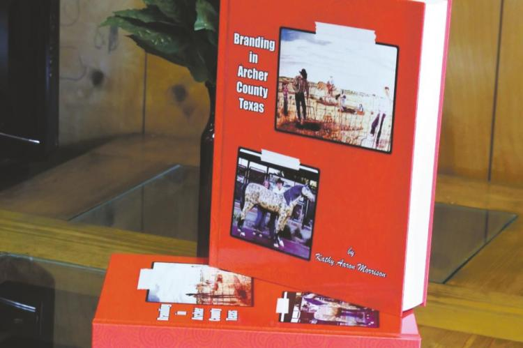 The Branding in Archer County Texas book is out and available for purchase at the Archer County News office. Photo/Will Edwards