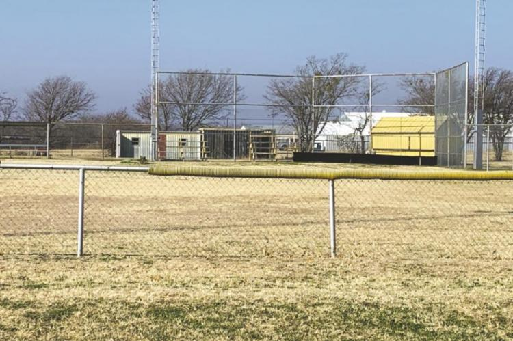 The Archer County Commissioner's Court approved a request to convert the county owned baseball field into a softball field. Photo/Will Edwards